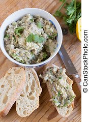 Eggplant dip - Delicious and healthy eggplant dip
