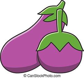 eggplant illustrations and clip art 10 799 eggplant royalty free rh canstockphoto com eggplant plant clipart eggplant clipart png