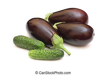 eggplant with cucumbers