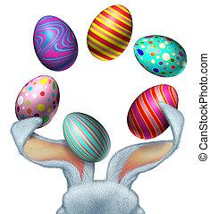 eggs, пасха, кролик