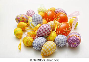 eggs., 復活節, 鮮艷, 安排