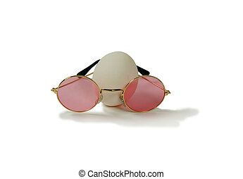 Eggs and rose colored glasses