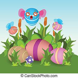 eggs hatch