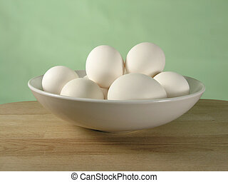 eggs in a bowl - OLYMPUS DIGITAL CAMERA eggs