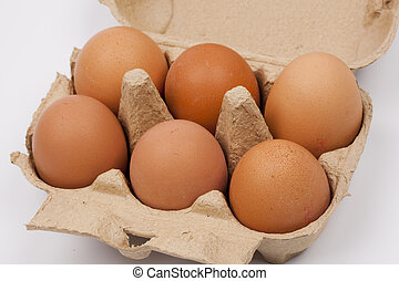 eggs in a box