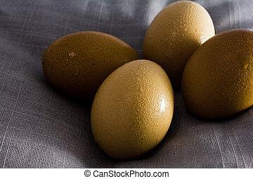 eggs on bolster