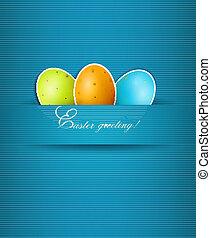 eggs., páscoa, fundo, vector.