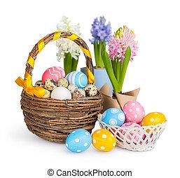 eggs., pasen, kleurrijke