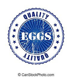 Eggs  Quality Stamp.