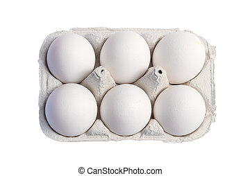 Eggs - Six pack of eggs