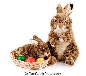 eggs., wielkanocny królik, cukier