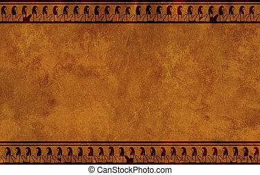 egipcio, nacional, patrones