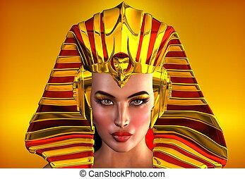 egipt, twarz