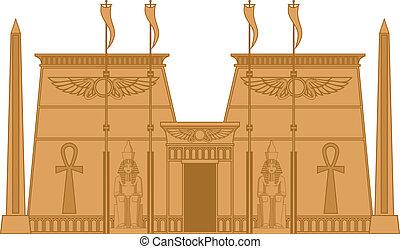egiptian, 寺廟