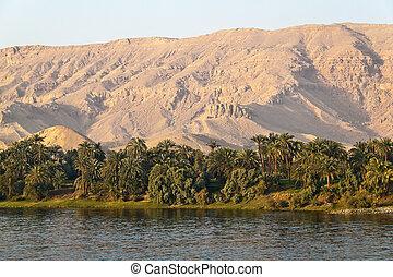 egipto, áfrica, nilo, crucero