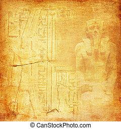 egipto, antiguo, plano de fondo