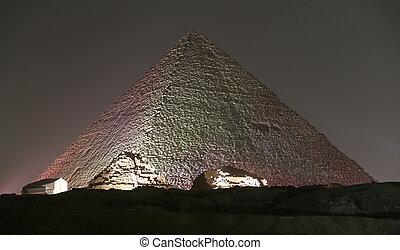 egipto, gran pirámide, el cairo, giza