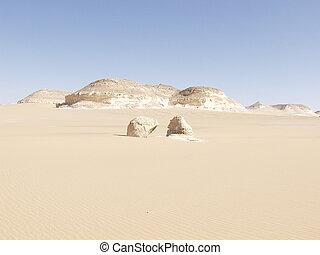 egipto, oeste, sáhara