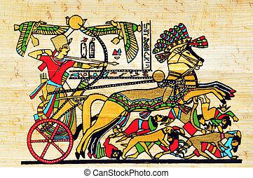 egipto, papiro