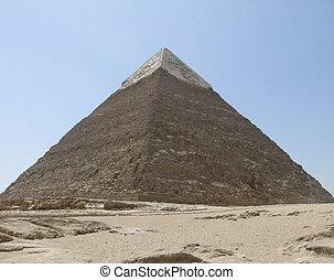 Egipto, pirámide,  khafre