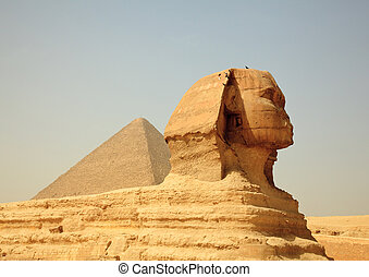 egipto, pirámides, esfinge, giza
