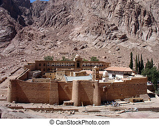 egipto, s., catherine, sinai, monasterio