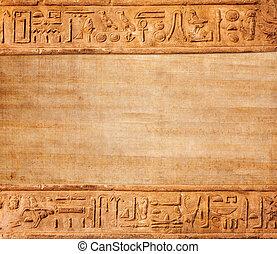 egipto viejo, jeroglíficos