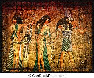 egirtian, oud, papyrus