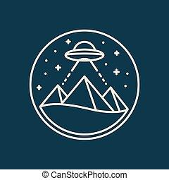egito, piramides, ufo