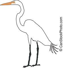 egret, nevoso