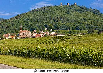 Eguishem, Alsace, France