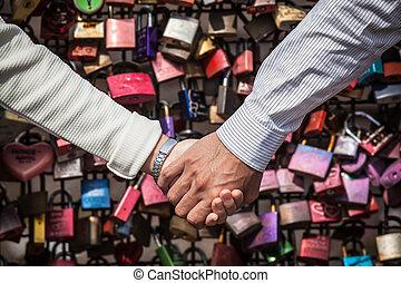 együtt, szerelemben