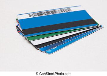 egy, állhatatos, közül, kártya