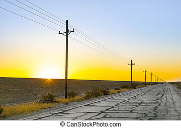 egyenes, overland, elektromos