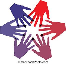 egyesítés, érint