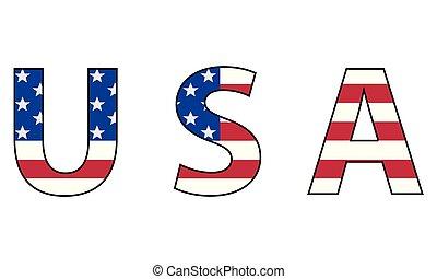 egyesült államok, jelkép, egyesült, amerika