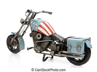 egyesült államok, themed, motorkerékpár