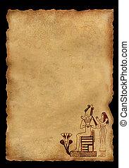 egyiptomi, nemzeti, példa