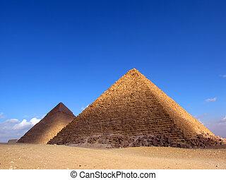 (egypt), ピラミッド, 2, ギザ