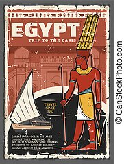 Egypt ancient culture travel and Niles trip tours