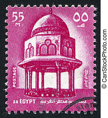 Mosque - EGYPT - CIRCA 1969: stamp printed by Egypt, shows...