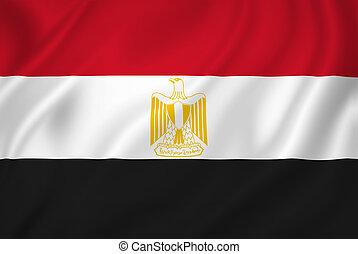 Egypt national flag background texture.