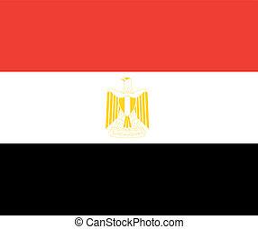 egypt flag - national flag of egypt country. world egypt...