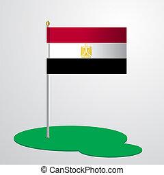 Egypt Flag Pole