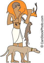 Ancient Egypt hunter