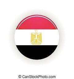 Egypt icon circle