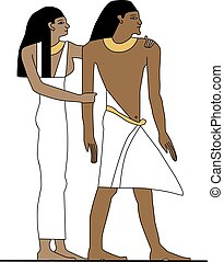 Ancient Egypt family