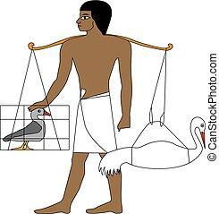 Ancient Egypt farmer