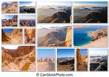 Egypt pictures collage