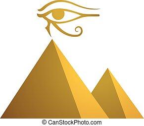 egypt pyramid eye symbol